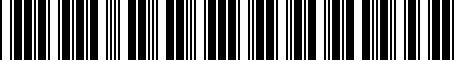Barcode for 8E0071126A