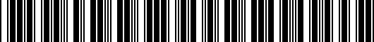 Barcode for 8K0071200Y9B