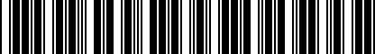 Barcode for 8K9017221