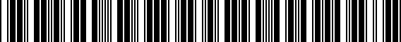 Barcode for ZAW071105DDSP