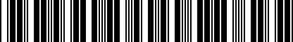 Barcode for ZAW355030